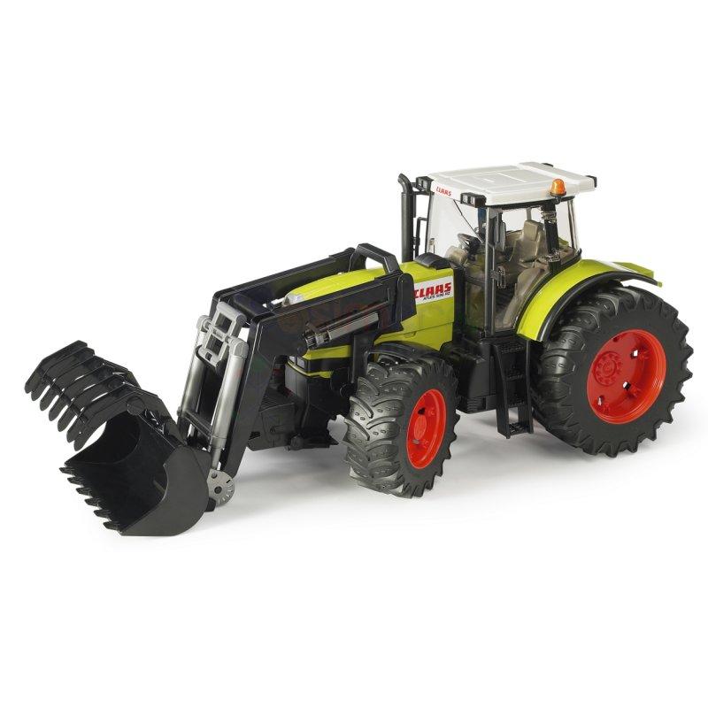 claas atles 936 rz traktor mit frontlader 03011 bruder. Black Bedroom Furniture Sets. Home Design Ideas