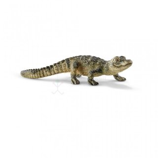 SCHLEICH 14728 Alligator Junges Wild Life
