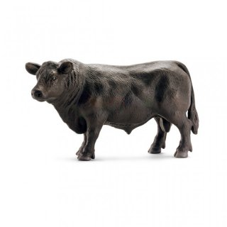 SCHLEICH 13766 Black Angus Bulle Farm World