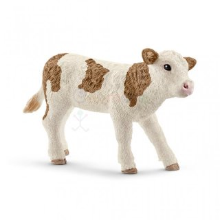 Schleich 13802 Fleckvieh Kalb Farm World