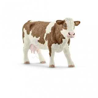 Schleich 13801 Fleckvieh Kuh Farm World