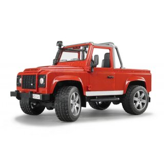 Land Rover Defender Pick Up rot 02591 BRUDER 02591