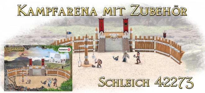 Kampfarena mit Zubehör 42273 SCHLEICH Eldrado